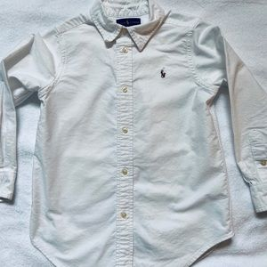 Ralph Lauren oxford shirt.
